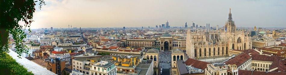 Milano panoramica centro